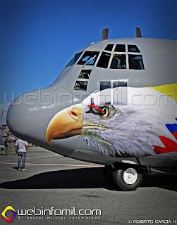 C-130 Hércules de la Fuerza Aérea Colombiana FAC1004