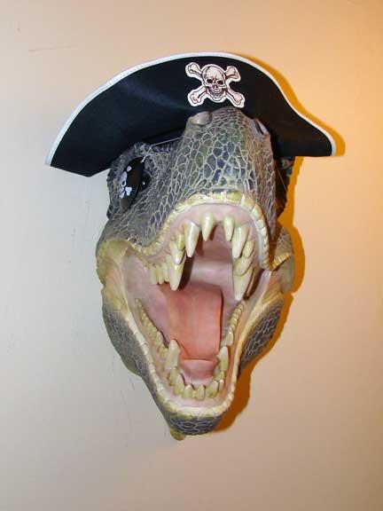 tyrannosaurus_rex t-rex pirate dinosaur_pirate