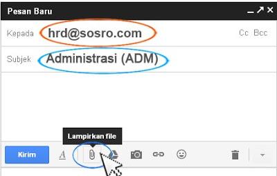 melamar kerja dari email