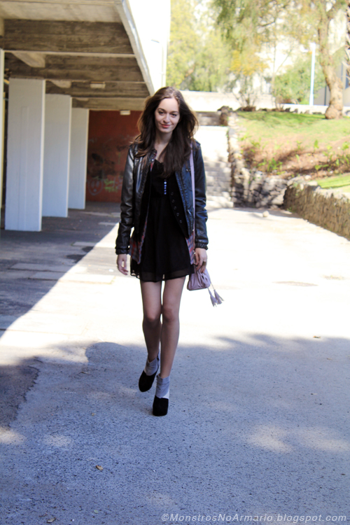Outfit of the Day - I like it with leather