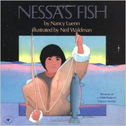 http://www.amazon.com/Nessas-Fish-Nancy-Luenn/dp/0689314779/ref=sr_1_1?ie=UTF8&qid=1443244838&sr=8-1&keywords=nessa%27s+fish