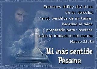 Tarjetas con Frases de Pesame, parte 2