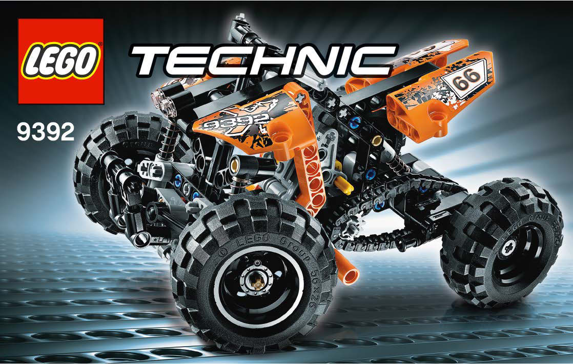 lego technic motorcycles 9392 official building instruction and price. Black Bedroom Furniture Sets. Home Design Ideas
