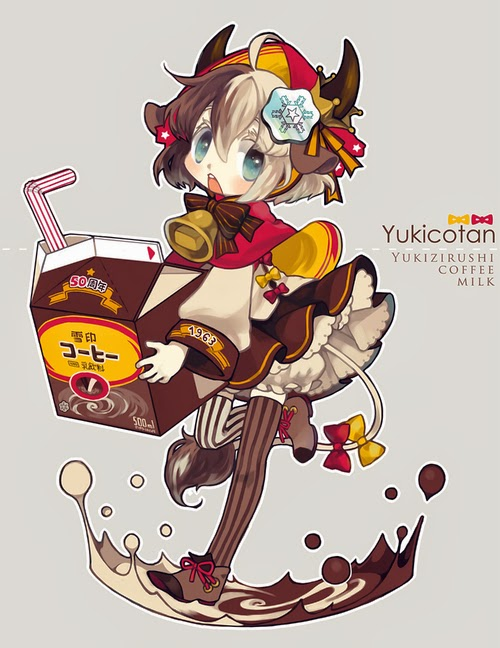 milk chocolate anime girl