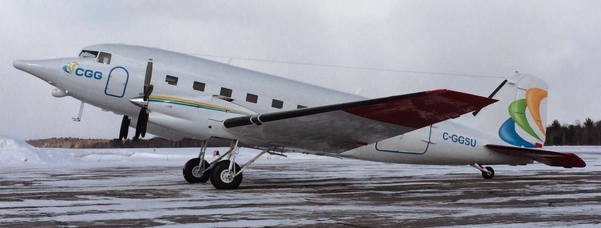 Basler BT-67 modified nose for sensors
