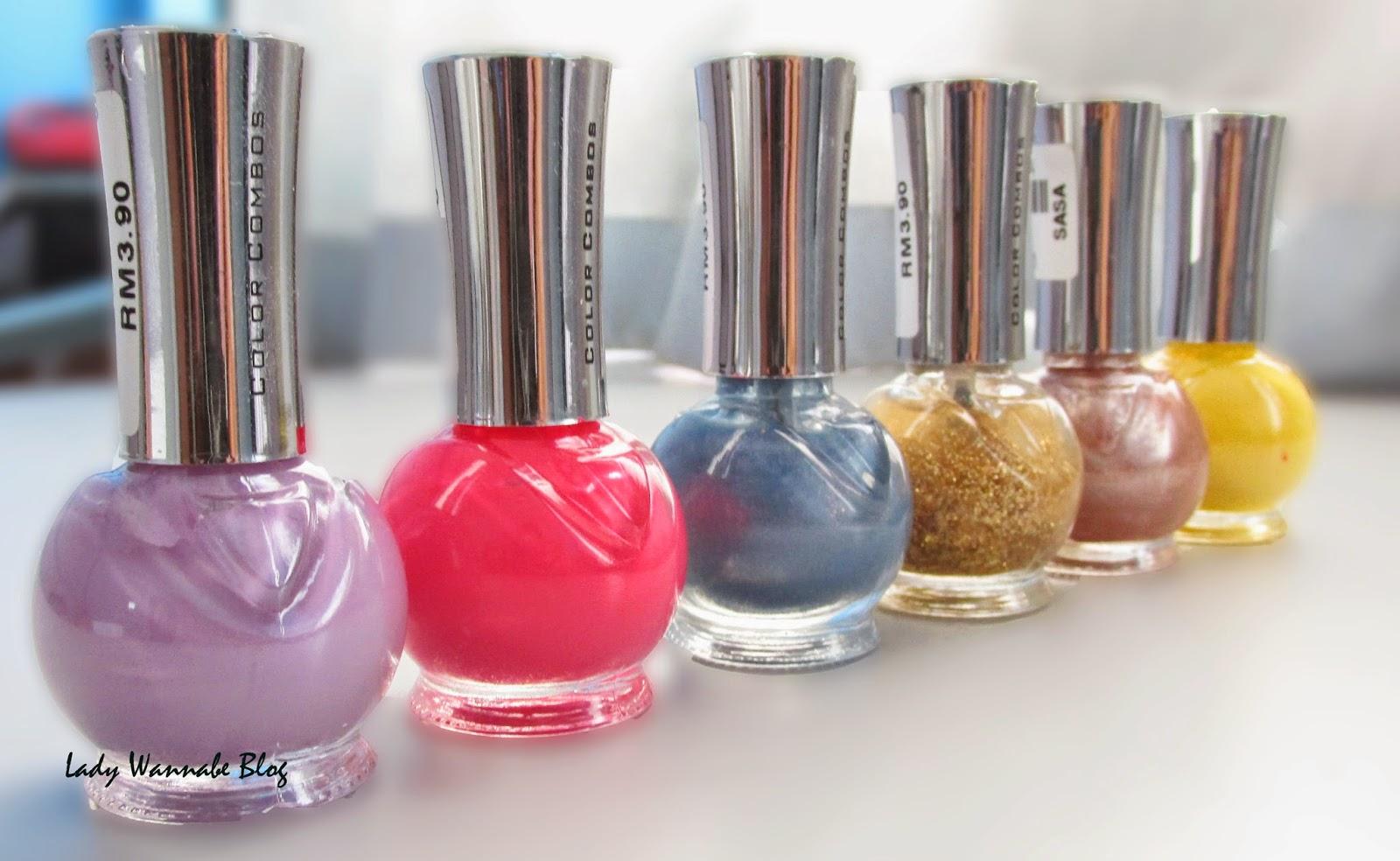 Lady Wannabe Blog: Color Combos Nail Polishes
