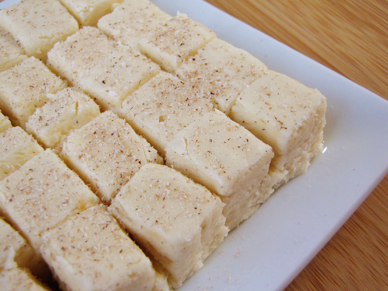 eggnog fudge | Sweet Anna's