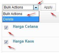 hapus tag sekaligus
