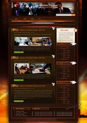 Biz Daily Show blogger template. free blogspot template download. download free blog blogger template