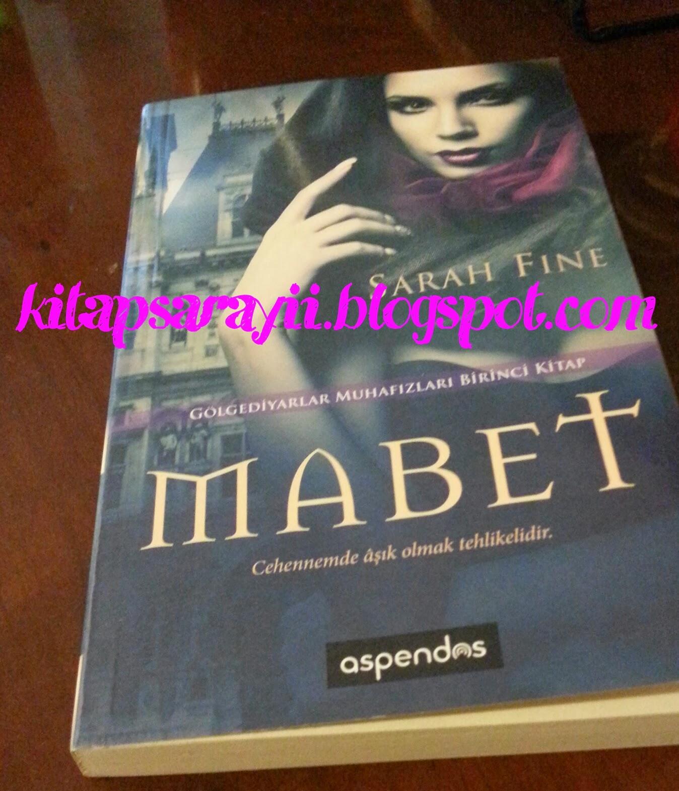 KITAP SARAYI: 6. KCBT : Mabet - Sarah Fine ( Kitap Tanıtımı )