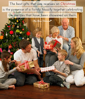 Christmas Gifts Celebration Picture Quotes