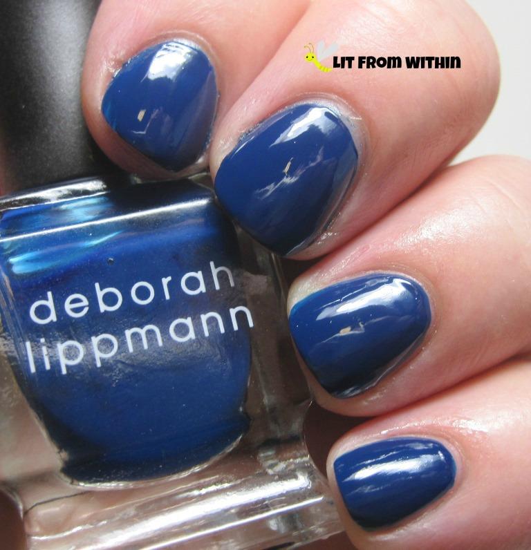 Deborah Lippmann My Prerogative, a shiny cobalt blue