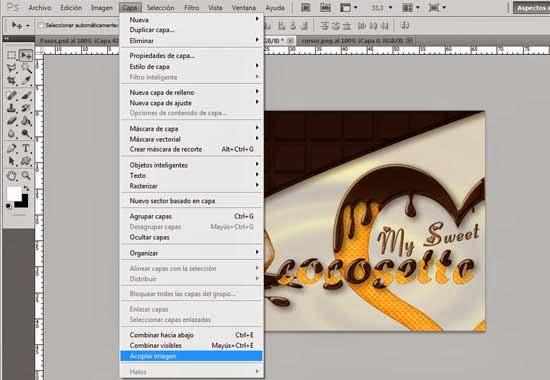 Texto con Estilo de Chocolate y Textura de Galleta 53 by Saltaalavista Blog