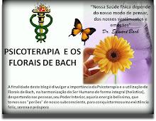 PSICOTERAPIA E OS FLORAIS DE BACH