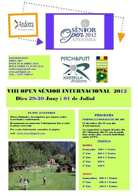 Open Sènior FIPPA Andorra 2012