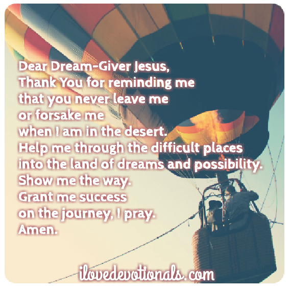 a prayer for when your dreams need new life