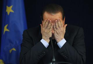 Malos momentos de Silvio Berlusconi, Italia
