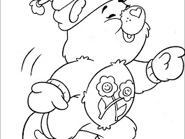 Care Bears Christmas Coloring Pages