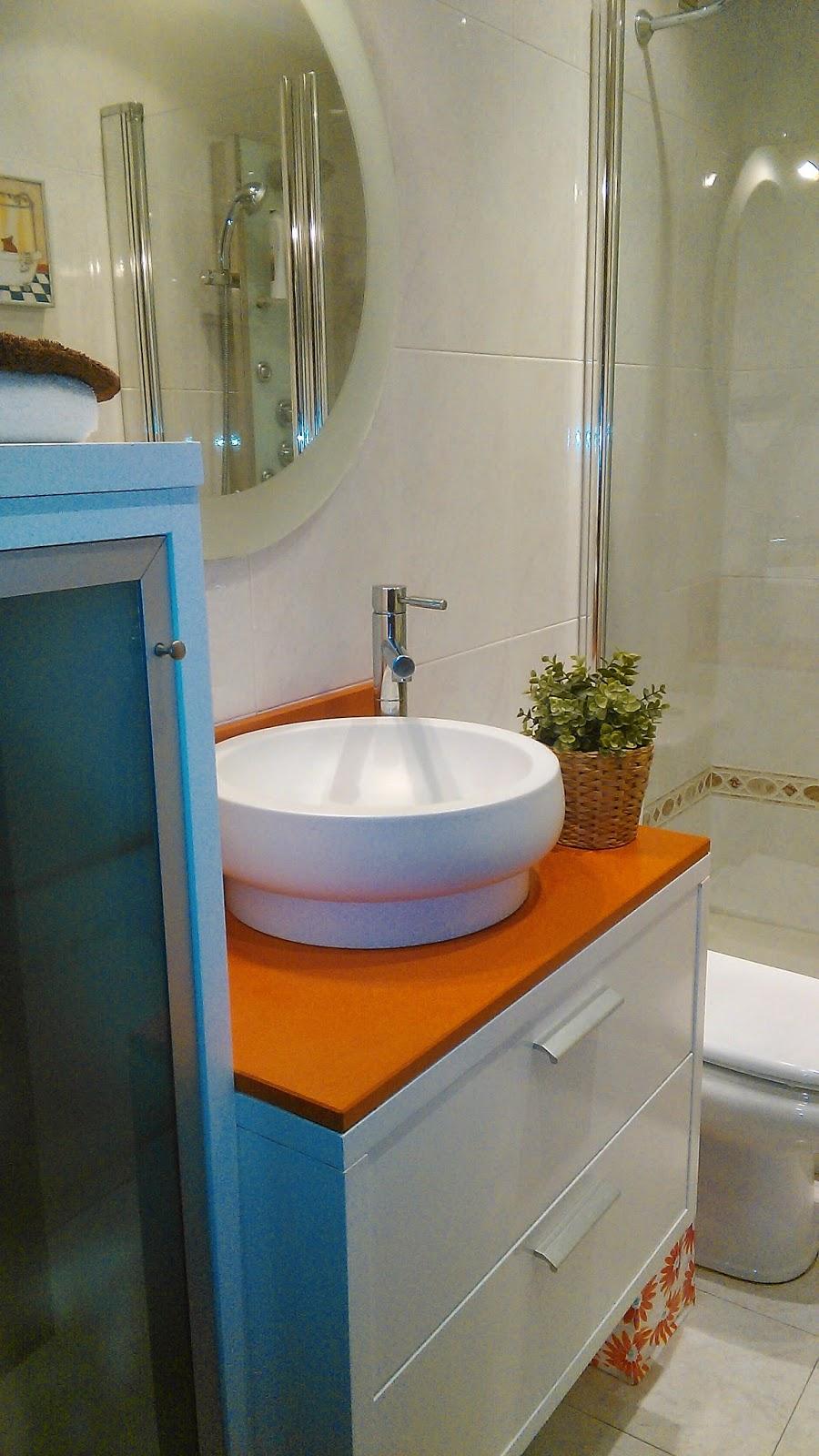 Decorar Un Baño Facil:raíz de publicar un post sobre baños pequeño bien distribuidos