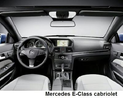 Mercedes E-Class cabriolet pics
