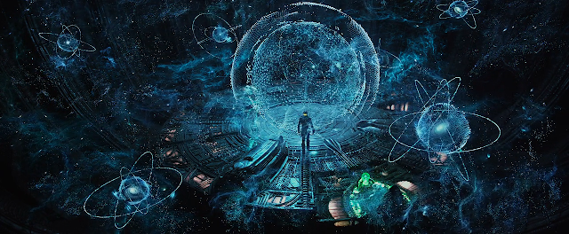 The Engineers control room (Prometheus Movie)