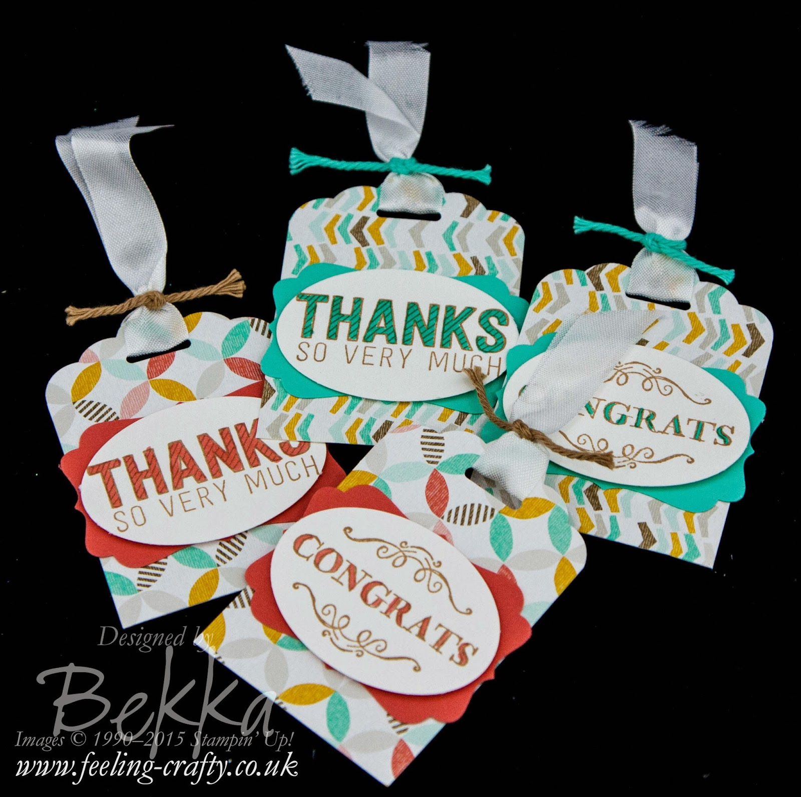 Tags featuring the amazing Sale-a-Bration 2015 products - get them here