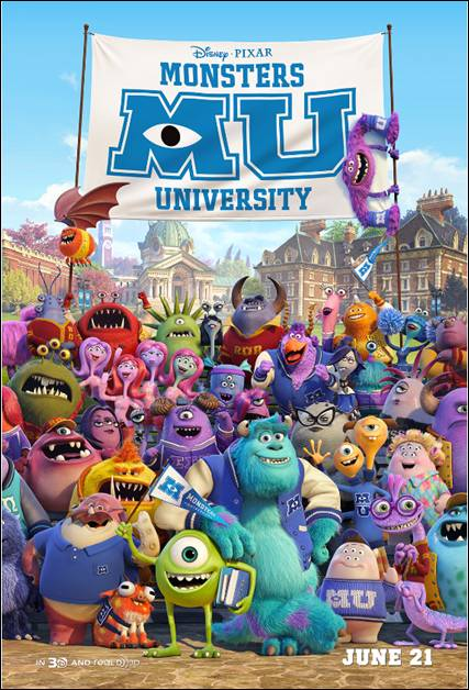 MONSTERS UNIVERSITY MU