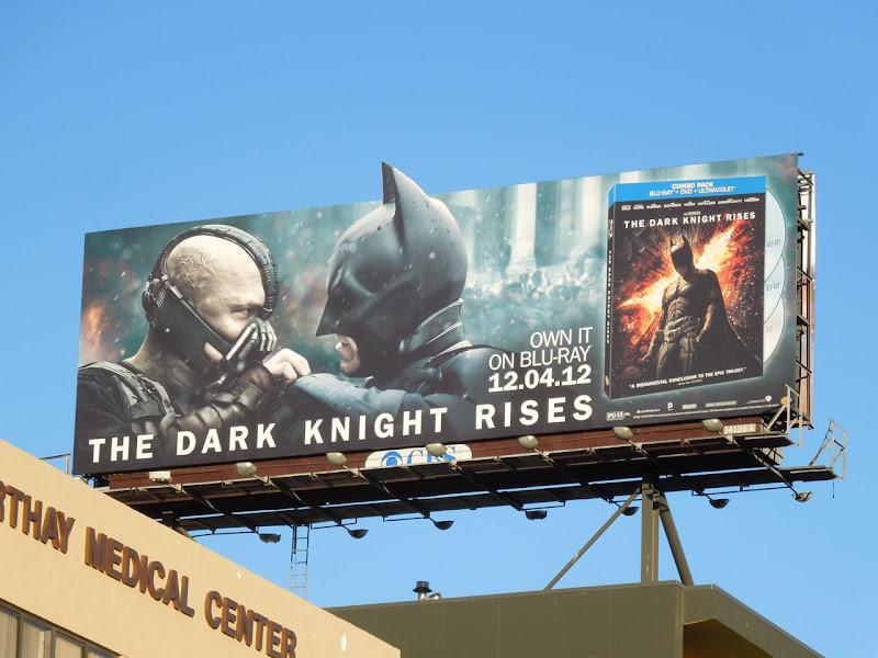 Dark Knight Rises Bluray special extension billboard