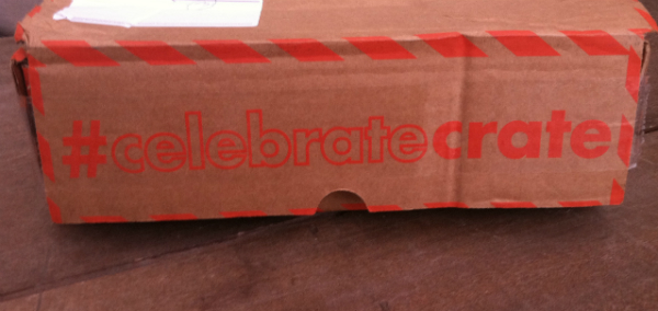 Celebrate Crate - October 2012 Review - Monthly Party and Craft Subscription Boxes