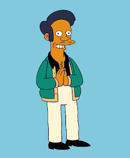 I guess Apu from the Simpsons chose the right career path