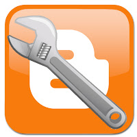 Blogger logo with wrench