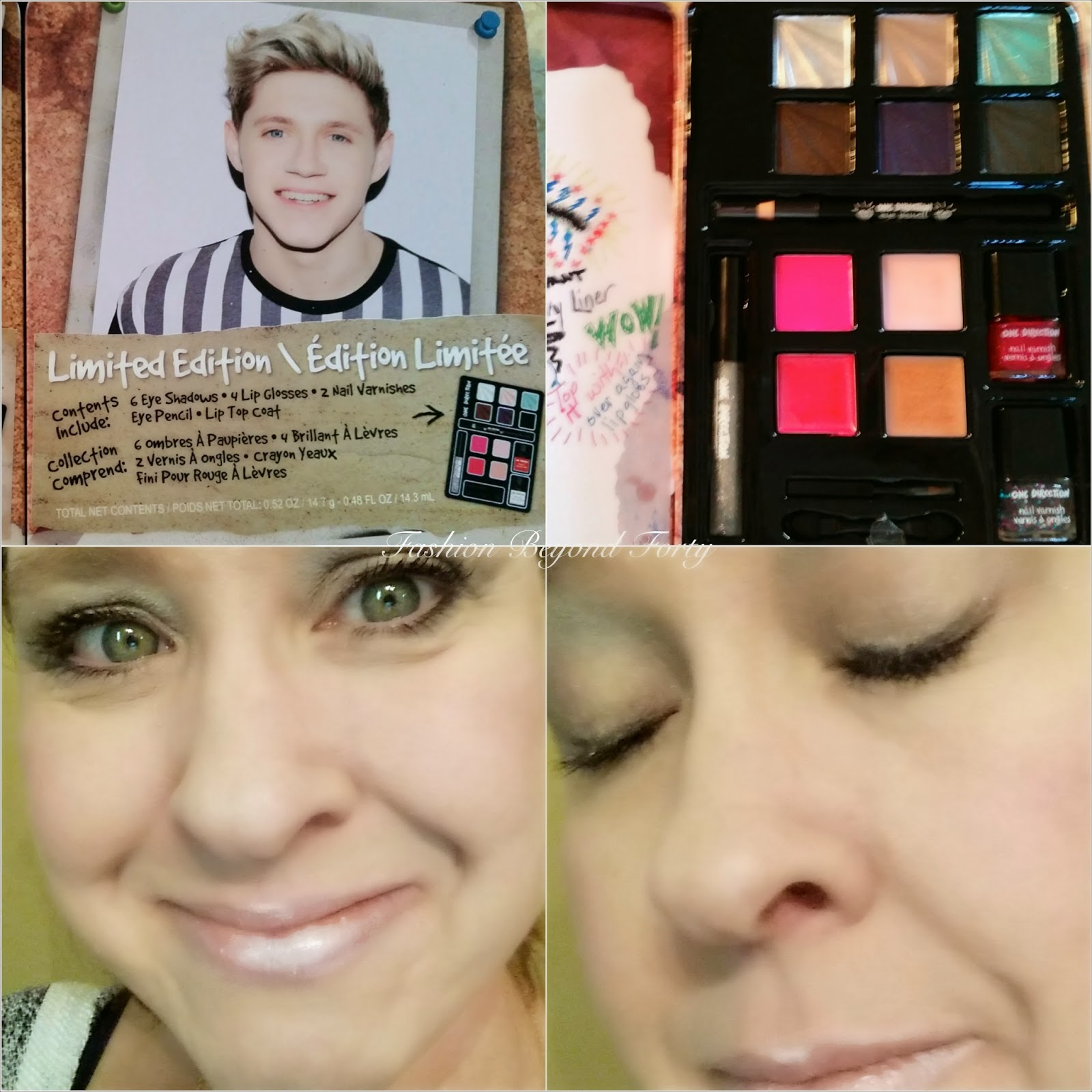 One Direction Makeup Review and Giveaway  Fashion Beyond Forty
