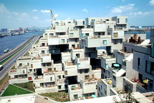 Habitat 39 67 by moshe safdie architects interior home design for Habitat 67 architecture