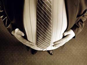 السمنة والبدانة تهدد خصوبة الرجل وتعجل بوفاته - رجل سمين بدين بكرش