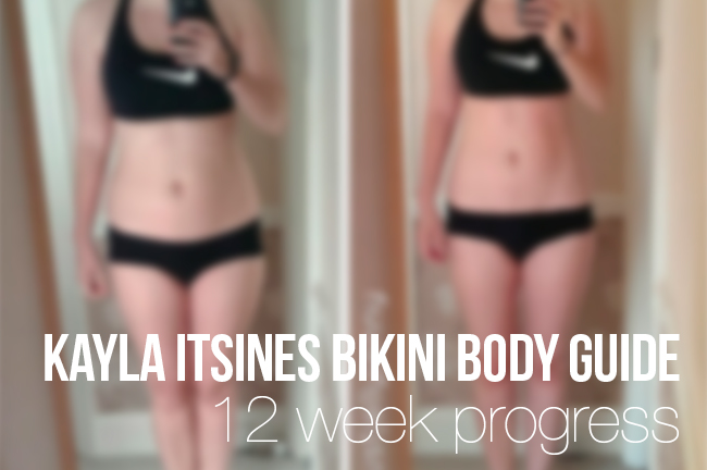 Kayla Itsines 12 week bikini body guide review