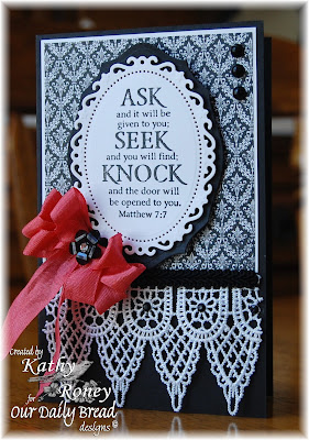 Our Daily Bread Designs, Ask Seek Knock