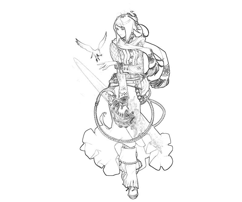the-last-story-mirania-character-coloring-pages