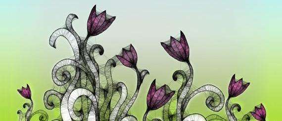 Spring Flower Brushes