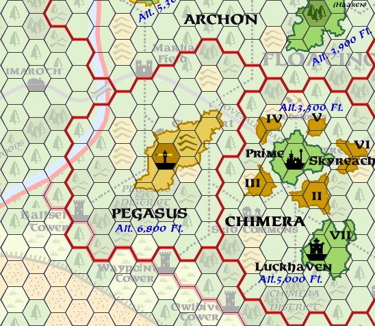Mystara Alphatia Ar Pegasus Hex Map