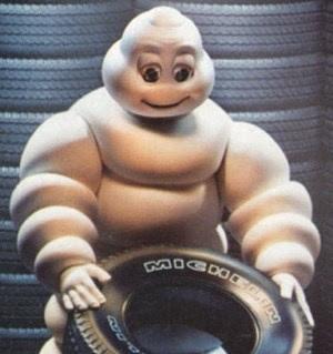 muñeco Michelin