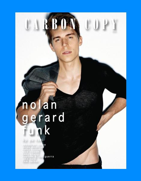Nolan Gerard Funk by Yu Tsai for Carbon Copy Magazine
