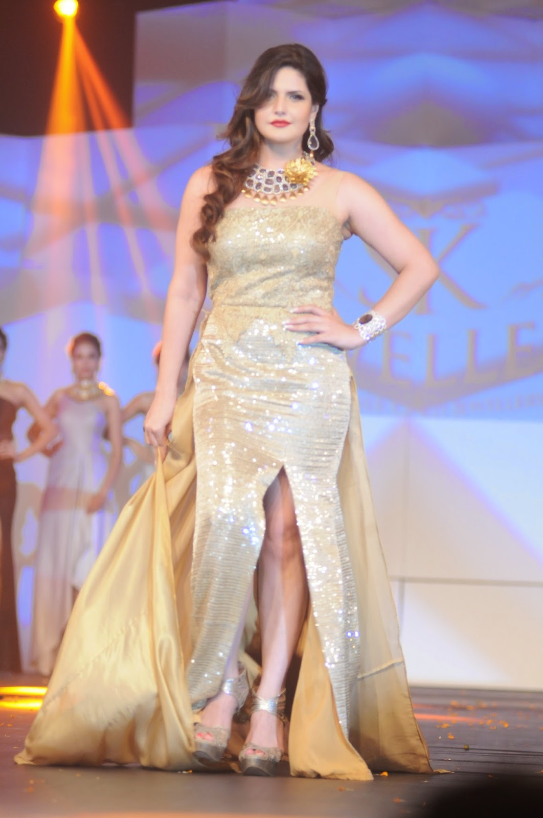 Celebs Ramp Walk At IBJA Fashion Show Photo