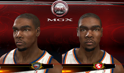 NBA 2K13 Kevin Durant Cyber Face Patch PC, PS3, XBOX