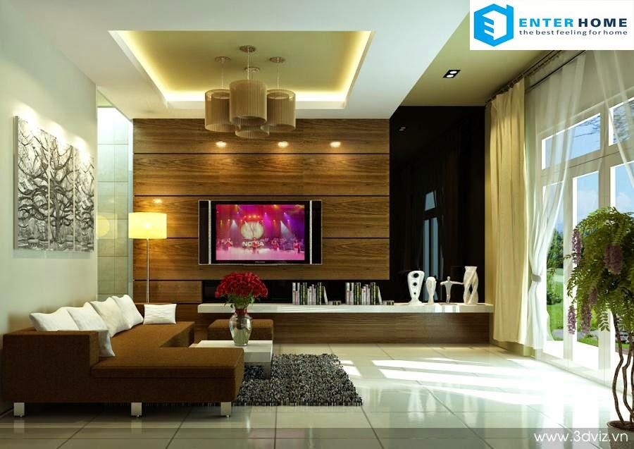 Thiết kế nội thất phòng khách đẹp nhất