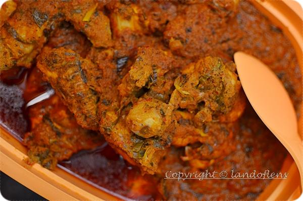 Resipi : Rendang Ayam