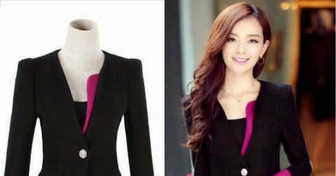 Model Blazer Wanita Semi Formal Terbaru Di Jual Online