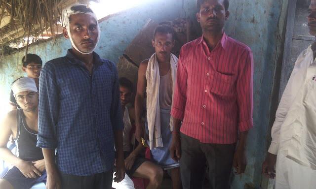 uttar-pradesh-police-encounter-sitapur-उत्तर प्रदेश-सीतापुर जिले के महोली-यूपी में पुलिस का तांडव गिरी तीन लाशें आधा दर्जन घायल