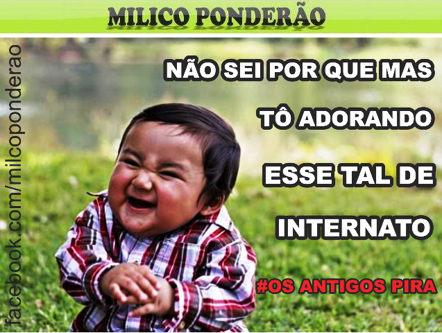 Curta a page do Milico Ponderão no Facebook