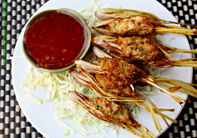 Stuffed Lemongrass Lao