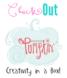 Paper Pumpkin Button